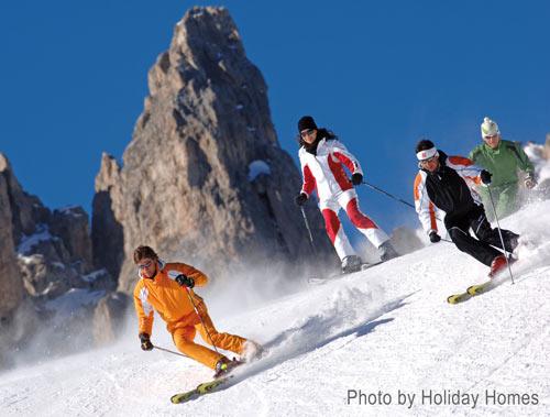 skiing holidays in Italy