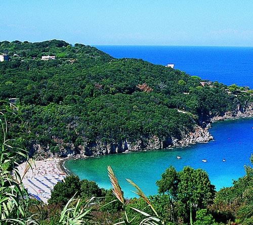 Beach in Campania