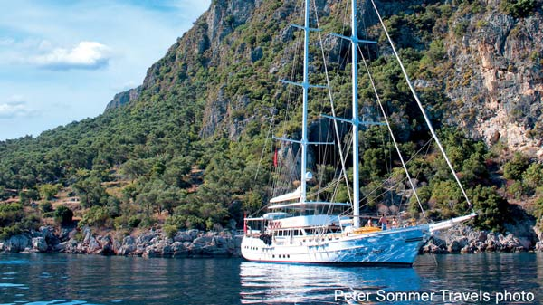barging and cruising in italy