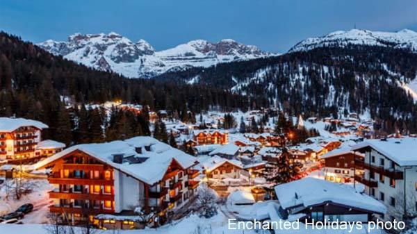 ski resort in Italy