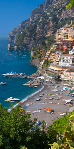 Italy seaside view
