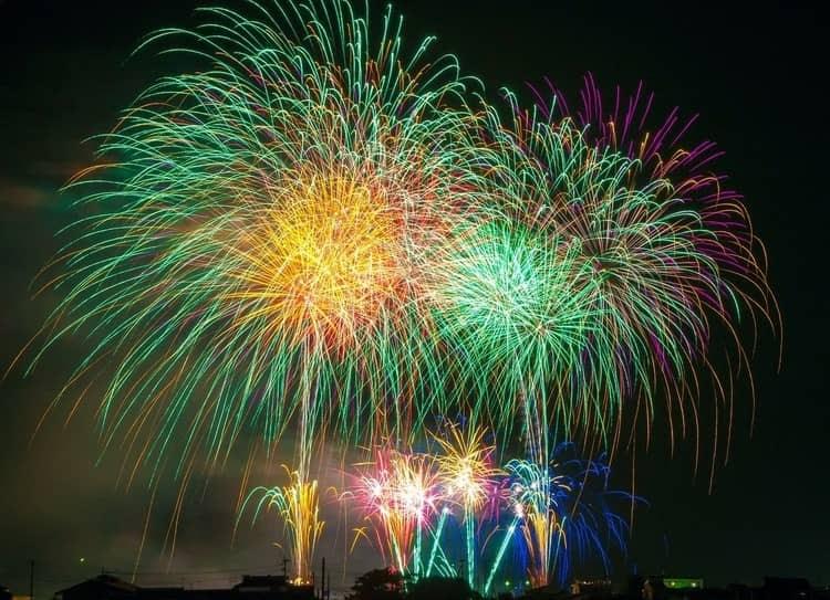 Venice in Winter Fireworks
