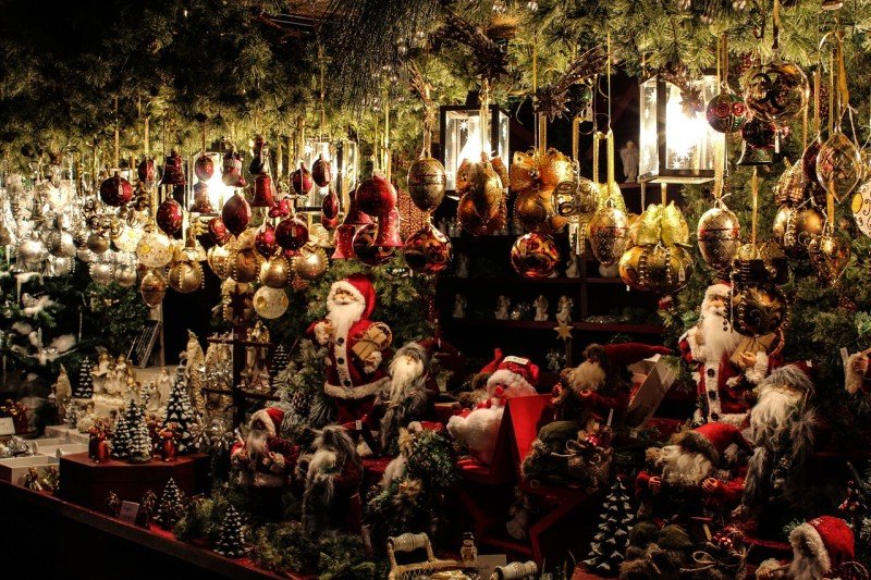 Christmas market in Venice