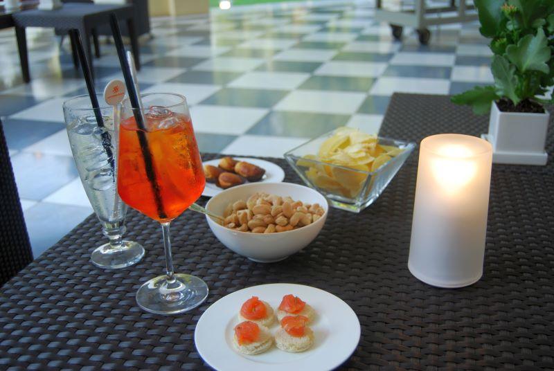 Alfresco dining Italy
