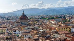 View of Pistoia Town, Tuscany